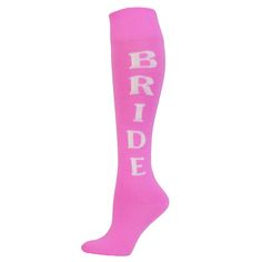 Wedding or bridal shower gift Red-Lion-Bride-Urban-Word-Sock-Medium-Knee-High