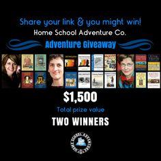 Adventure Giveaway 2017 https://homeschooladventure.com/blog/giveaways/adventure-giveaway-2017/?lucky=7102