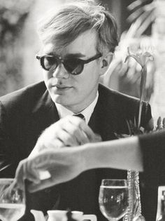 Andy Warhol shot by Dennis Hopper, circa 1961