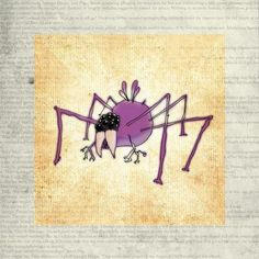 'NOCTURNIAN EEKBUG SPIDER' by Hayes Design on artflakes.com as poster or art print $16.63