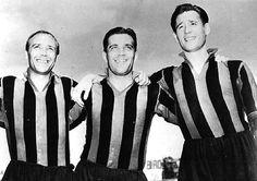 "Gunnar Nordahl was part of the famous Swedish trio ""Gre-No-Li"" consisting of Gunnar Gren, Gunnar Nordahl and Nils Liedholm"