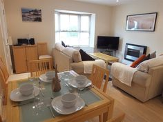 Park Place Court 1 in Tenby is a lovely modern four star property. Sleeping six people it's on a few minutes walk to the town centre and beaches. Prices from £535 to £1105 for a weeks break. Short breaks available. Call 01834 844565 to book.
