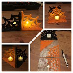 Halloween Hama beads perler - Bügelperlen - Tischdeko zu Halloween - Midi #sketchy