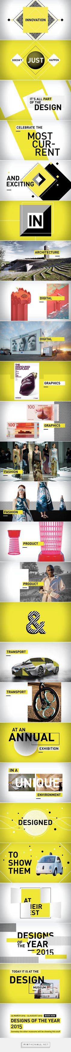 London's DESIGN MUSEUM | Designs of the Year 2015 promo Roxanne Silverwood