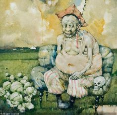 View Polish theme - field Hamlet by Jerzy Duda-Gracz on artnet. Browse upcoming and past auction lots by Jerzy Duda-Gracz. Norman Rockwell, Agra, Garden Sculpture, Contemporary Art, Polish, Marion Peck, Painting, Things To Sell, Sunday