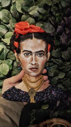 Frida Art Doll Frida Art, Art Dolls, My Arts, Painting, Painting Art, Paintings, Painted Canvas