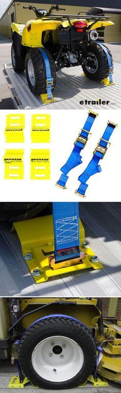 Erickson ATV ETrack TieDown Kit w/ Ratchet Straps and