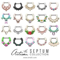Check out the hottest Septum Jewelry collection at BM25.com