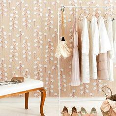 Majvillan Sweet Cotton Soft Pink Wallpaper