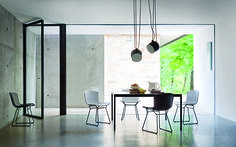 #Bertoia #Plastic chairs by #Knoll