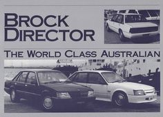 Brochures: HDT Brock VK Director Holden Australia, Australian Cars, General Motors, Muscle Cars, Cars For Sale, Race Cars, Cool Cars, Melbourne, Transportation