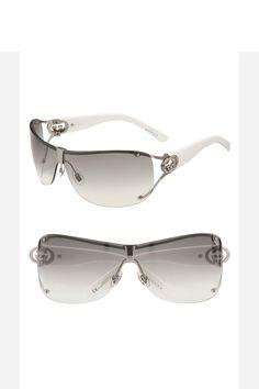 latest eyewear eaj5  Gucci shield sunglasses oh I need a new pair!