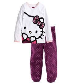 9420d15e7 HELLO KITTY NIGHTWEAR · Product Detail | H&M GB Pajama Suit, Pajama  Pants, Pyjamas, T