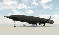 Un avión que viaja a velocidad hipersónica