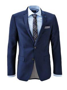 WE Tailored by Van Gils! We love this structured blazer for men! #WEFashion #DressUpThursday