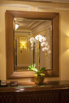 Elegance exudes throughout our entire hotel Beverly Wilshire, Luxury Travel, Hotels And Resorts, Oversized Mirror, Elegant, Interior, Furniture, Home Decor, Classy