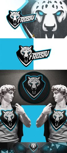 Frosty Brand by Rory Seaton Malgas Web Design Logo, Gfx Design, Mascot Design, Badge Design, Typography Logo, Logo Branding, Presentation Logo, Esports Logo, Sports Team Logos