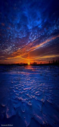 """Once Upon A Timeless Journey"" Horizons by Phil Koch. Lives in Milwaukee, Wisconsin, USA."
