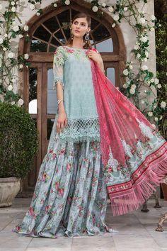 2b141cfe53 Latest Maria B Eid Lawn Dresses Designs Collection 2019-2020