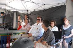 Asistieron al evento: la secretaria de Turismo, Leticia Perlasca Núñez; la directora general de Comunicación Social del estado, Gina Domínguez Colío; el alcalde de Boca del Río, Salvador Manzur Díaz, y la diputada local Ainara Rementería Coello.
