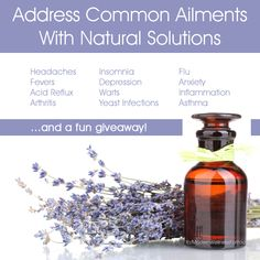 Getting Started with Essential Oils - Address Common Ailments with Natural Solutions + Giveaway