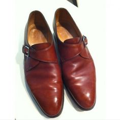 John Lobb Brown Monk Strap