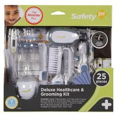 Safety 1st Deluxe Healthcare & Grooming Kit - White : Target Mobile