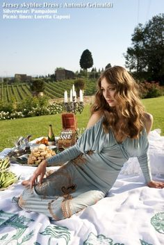 surprise pic nic among the vineyards