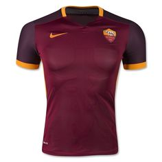 15-16 Roma Home Red Soccer Jersey Shirt | Roma Jersey Shirt sale | Gogoalshop