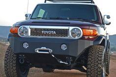 Body Armor Toyota FJ Cruiser 2007-2014 Front Bumper Winch Ready.