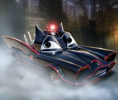 CARS/Batmobile mash-up