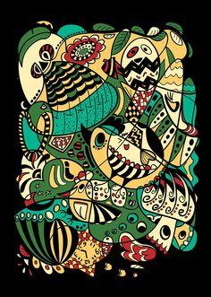 12 Zodiac Animals by YenThu Hoang