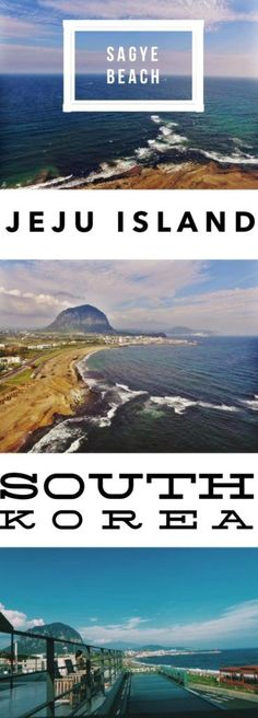 Sagye Beach, South Korea: Best Beach in Jeju Island for a Mt. Sanbangsan View: