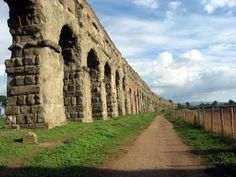 Il Parco degli Acquedotti it is a public park in Rome, Italy, named after the aqueducts that go thought it.