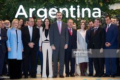 King Felipe VI of Spain and Queen Letizia of Spain attend the FITUR International Tourism Fair opening at Ifema on January 18, 2017 in Madrid, Spain.  (Photo by Carlos R. Alvarez/WireImage)