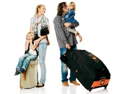 STOKKE STORIES: Sweet Travels with Stokke! Select a stroller that is right for your trip and use a Stokke® PramPack™ to protect it so it arrives there safely. It rolls up for compact, convenient storage
