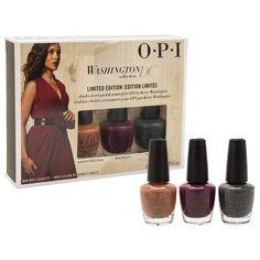 OPI Washington DC Fall Collection Lacquer Nail Polish Mini 3 Pack
