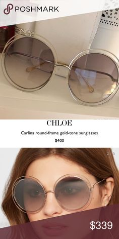 27a7d67bed Chloe sunglasses It s the most classic style Everybody knows that☺ almost  brand new Good quality I don t have the physical recipe but I have the ...