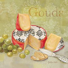 RB6843CC <br> Fromage Francais III <br> 12x12