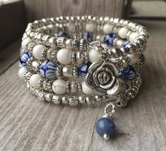 Check the way to make a special photo charms, and add it into your Pandora bracelets. This 5 coil bracelet is made with stainless steel memory wire - will adjust to the size of your wrist and no chance of breaking. This will ensure
