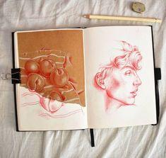 Sketchbook drawings, sketchbooks, name drawings, art sketches, doodle sketc Art Sketches, Art Drawings, Arte Sketchbook, Moleskine Sketchbook, Guache, Sketchbook Inspiration, Sketchbook Ideas, Doodle Sketch, Art Portfolio