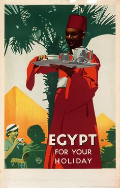 Egypt for your holiday - 1937 - illustration de Görey -