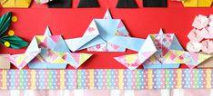  ひな祭りの折り紙【3月】簡単な雛飾りの折り方まとめ!五段並びも手作りできる! Origami, Origami Paper, Origami Art