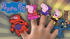 PEPPA PIG INSIDE OUT FINGER FAMILY DRAWING WITH LYRICS SONG & MORE DISNEY…