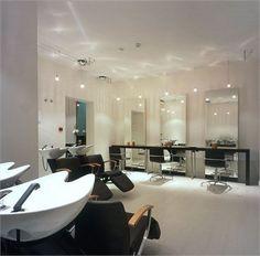 Floor plan design idea  Hairdresser salon & school (Madrid)