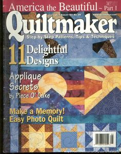 Quiltmaker n86 july/aug 2002 america beautiful part 1