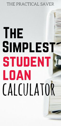 pay off student loans calculator