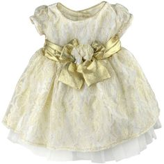 Youngland Golden Lace Dress with Bow and Diaper Cover 0-3- Golden/ Ivory Youngland,http://www.amazon.com/dp/B00GKW52KA/ref=cm_sw_r_pi_dp_LItOsb1QMQ9MN0K5