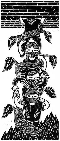 Stencil Art, Stencils, Zine, Arte Punk, Protest Posters, Feminist Art, Arte Popular, Picture Wall, Illustrations