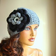 Items similar to Gray Woman Hat, Knit Gray Winter Beanie, Women Gray Beret, Knit Girl Beanie, Winter Beret on Etsy Girl Beanie, Beanie Hats, Buy Clothes Online, Unique Gifts For Women, Flower Hats, Floral Kimono, Pretty And Cute, Brides And Bridesmaids, Hand Warmers